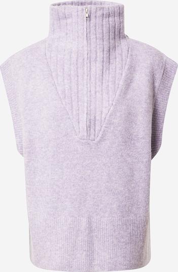 Moves Pullover 'Vitta' in lilameliert, Produktansicht