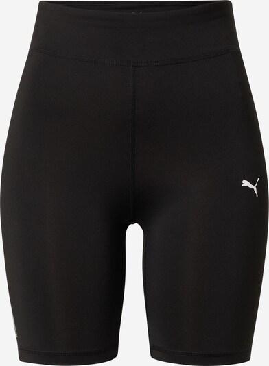 PUMA Športové nohavice 'Train Favorite' - čierna / biela, Produkt