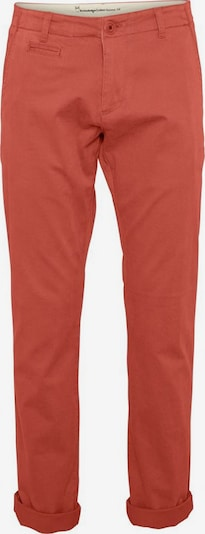 KnowledgeCotton Apparel Hose ' Chuck The Brain Stretch Chino ' in koralle, Produktansicht