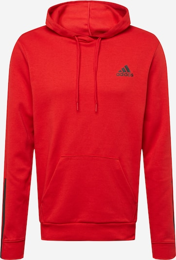 ADIDAS PERFORMANCE Sportiska tipa džemperis sarkans / melns, Preces skats