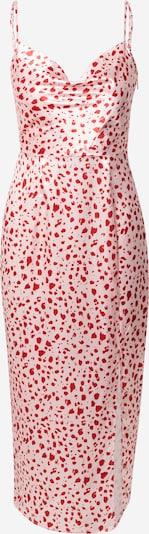 Chi Chi London Kleid in pitaya / weiß, Produktansicht