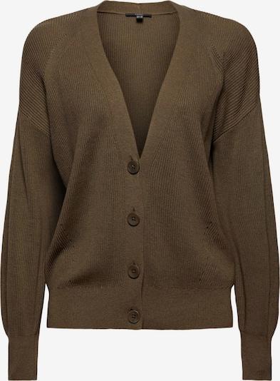 Esprit Collection Sweatjacke in braun / dunkelbraun, Produktansicht