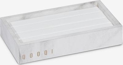 QOOQI Schmuckaufbewahrung in weiß, Produktansicht