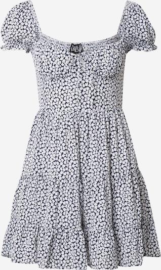 Parallel Lines Kleid in schwarz / weiß, Produktansicht