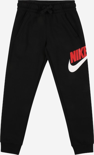 Nike Sportswear Trousers in red / black / white, Item view