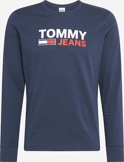 Tricou 'TJM LONGSLEEVE CORP' Tommy Jeans pe navy, Vizualizare produs