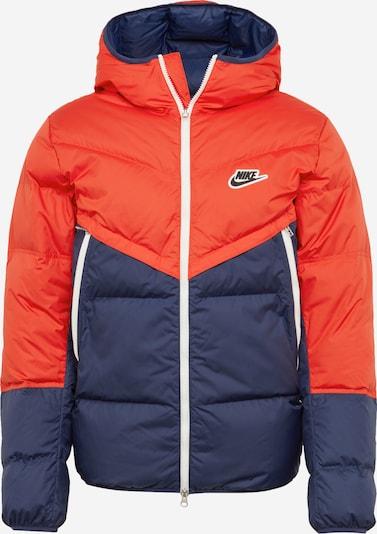 Nike Sportswear Ziemas jaka 'Fill Shield' kamuflāžas / oranžsarkans, Preces skats