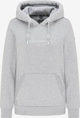 DreiMaster Maritim Sweatshirt in Grey