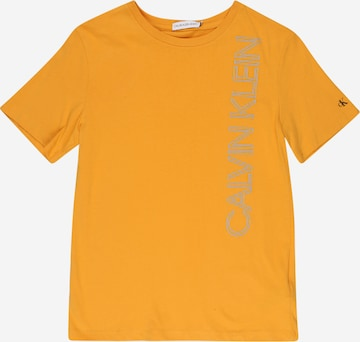 Tricou de la Calvin Klein Jeans pe galben