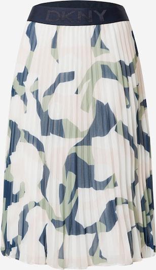 DKNY Sukňa - námornícka modrá / modrosivá / pastelovo zelená / biela, Produkt