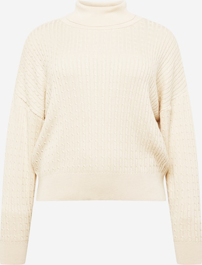 Guido Maria Kretschmer Curvy Collection Pullover 'Thea' in offwhite, Produktansicht