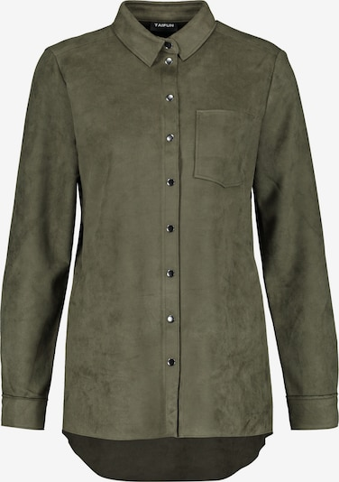 TAIFUN Bluse in khaki, Produktansicht