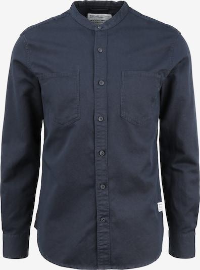 REPLAY Hemd in blau / dunkelblau, Produktansicht