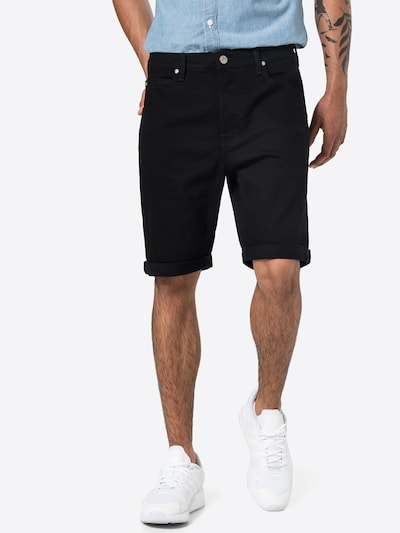 Lee Shorts in black denim, Modelansicht