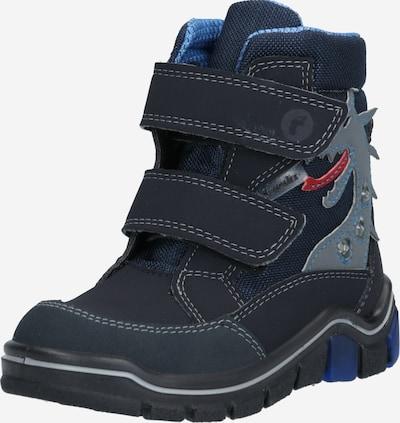 RICOSTA Stiefel 'Grisu' in rauchblau / taubenblau / dunkelblau / rot, Produktansicht