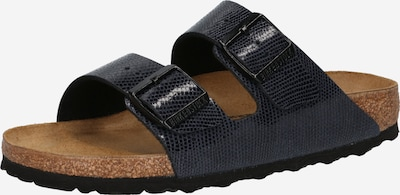 BIRKENSTOCK Pantolette 'Arizona' in dunkelblau / schwarz, Produktansicht
