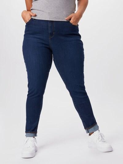 Levi's® Plus Jeans '721™' in dunkelblau, Modelansicht