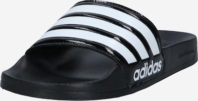 ADIDAS PERFORMANCE Badeschuh 'ADILETTE SHOWER' in schwarz / weiß, Produktansicht