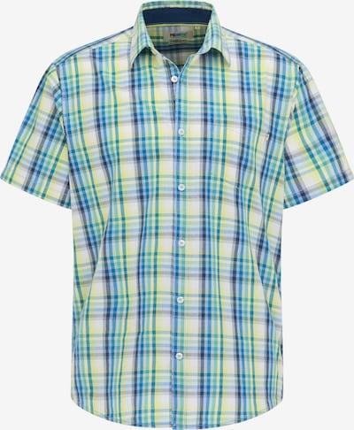 PIONEER Hemd in blau / gelb / weiß, Produktansicht