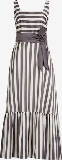 Vera Mont Robe de soirée en gris / blanc, Vue avec produit