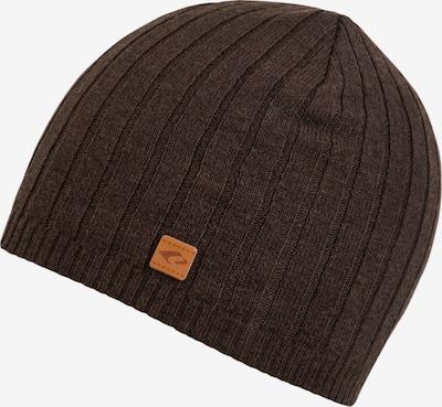 chillouts Bonnet 'Alfred' en brun foncé, Vue avec produit