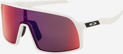 OAKLEY Sportzonnebril 'SUTRO S' in de kleur Rood / Wit, Productweergave