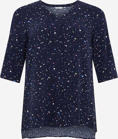MY TRUE ME Bluse in dunkelblau / mischfarben, Produktansicht