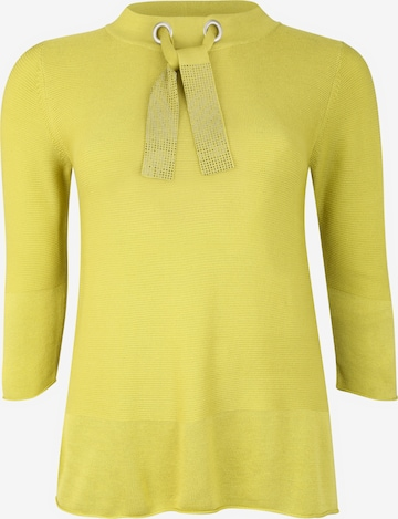 Doris Streich Pullover mit 3/4.Arm in Gelb