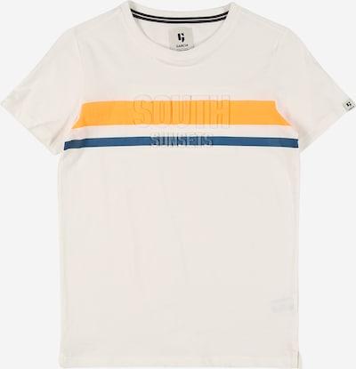 GARCIA Majica u plava / narančasta / bijela, Pregled proizvoda