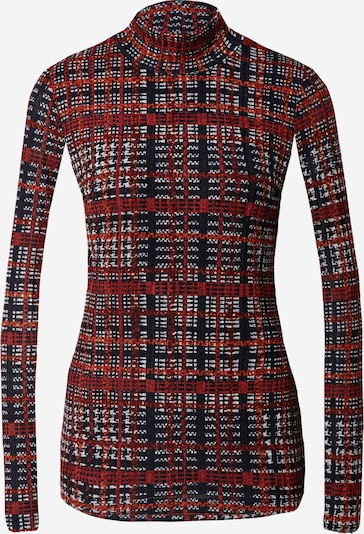 DKNY Shirt in de kleur Rood / Zwart / Wit, Productweergave