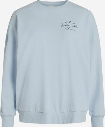 VILA Sweatshirt in Blue