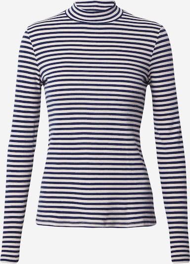 Marc O'Polo Shirt in dunkelblau / weiß, Produktansicht