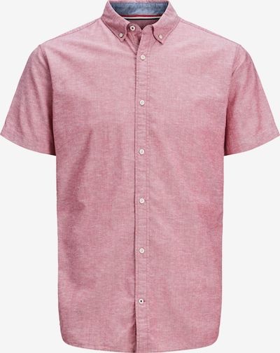 JACK & JONES Hemd 'JJESUMMER SHIRT S/S S21 STS' in rot, Produktansicht