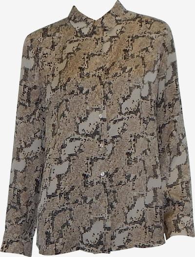 Someday Bluse in beige / camel / dunkelbraun / weiß, Produktansicht