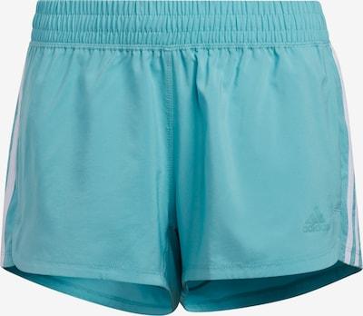 ADIDAS PERFORMANCE Shorts in jade / weiß, Produktansicht