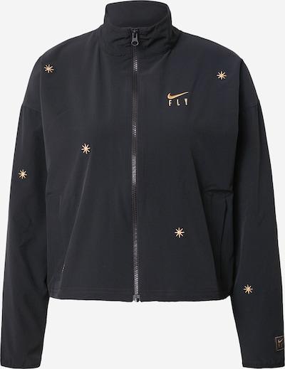 NIKE Sportovní bunda - zlatá / černá, Produkt