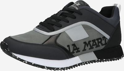 La Martina Zemie brīvā laika apavi, krāsa - pelēks / gaiši pelēks / melns, Preces skats