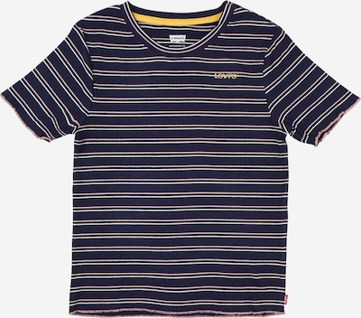LEVI'S Shirt in blau / gelb, Produktansicht