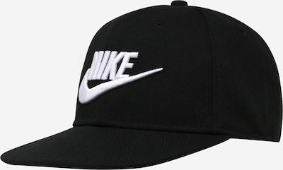 Nike Sportswear Kapa 'Futura 4' | črna / bela barva, Prikaz izdelka