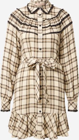 Twinset Kleid in elfenbein / schwarz, Produktansicht