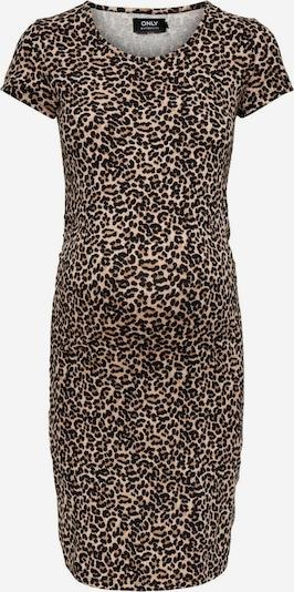 ONLY Kleid in beige / braun / schwarz, Produktansicht