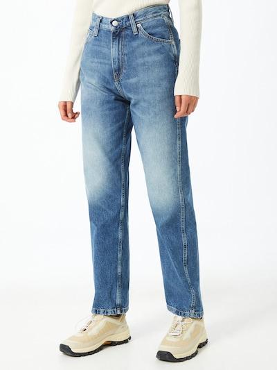 Calvin Klein Jeans Jean en bleu denim, Vue avec modèle