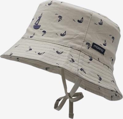 Pălărie MAXIMO pe bej / albastru noapte, Vizualizare produs