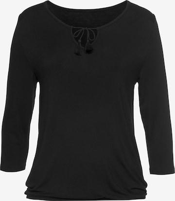 VIVANCE Shirt in Schwarz