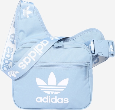 ADIDAS ORIGINALS Umhängetasche in hellblau / weiß, Produktansicht