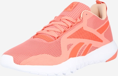 REEBOK Laufschuh 'Flexagon Force 3.0' in orange / melone: Frontalansicht