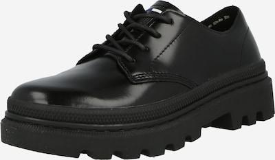 Palladium Chaussure à lacets en noir, Vue avec produit