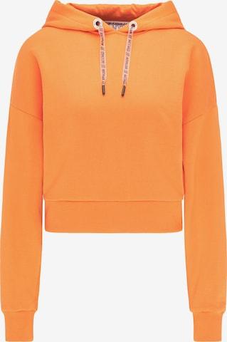 myMo ATHLSR Sweatshirt in Orange