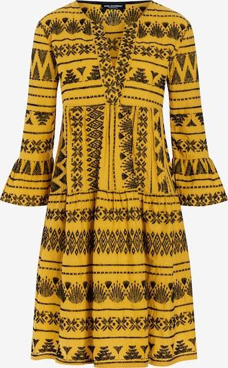 Ana Alcazar Boho Kleid ' Zelma ' in gelb, Produktansicht