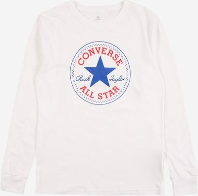 CONVERSE Shirt in blau / rot / weiß, Produktansicht